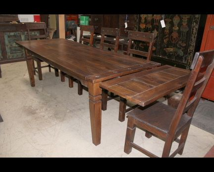 Rustic Dining Tables Antique Dining Tables Recycled Wood And