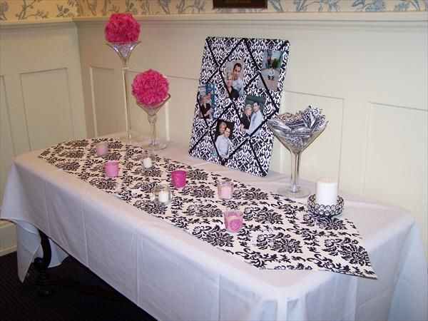 damask wedding ideas | Tracy and Jerry's Damask wedding - The Knot