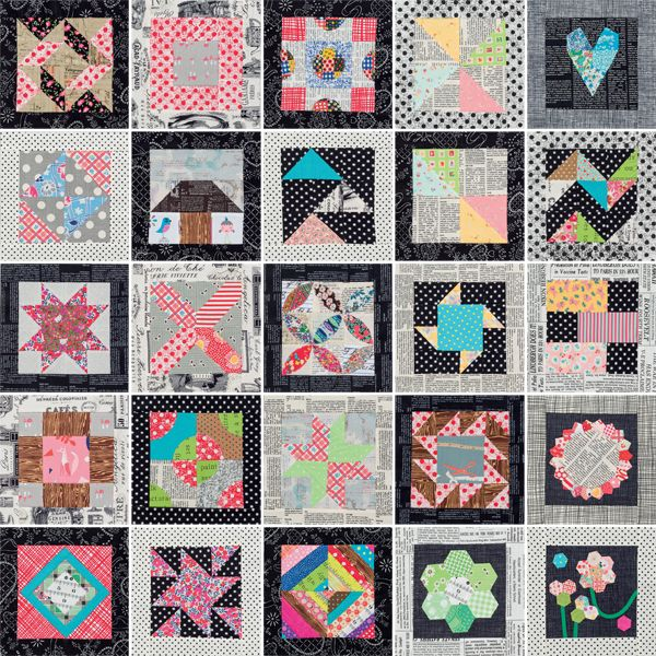 What can you do with quilt blocks—but no quilt pattern? Play, play ... : patchwork quilt books for beginners - Adamdwight.com