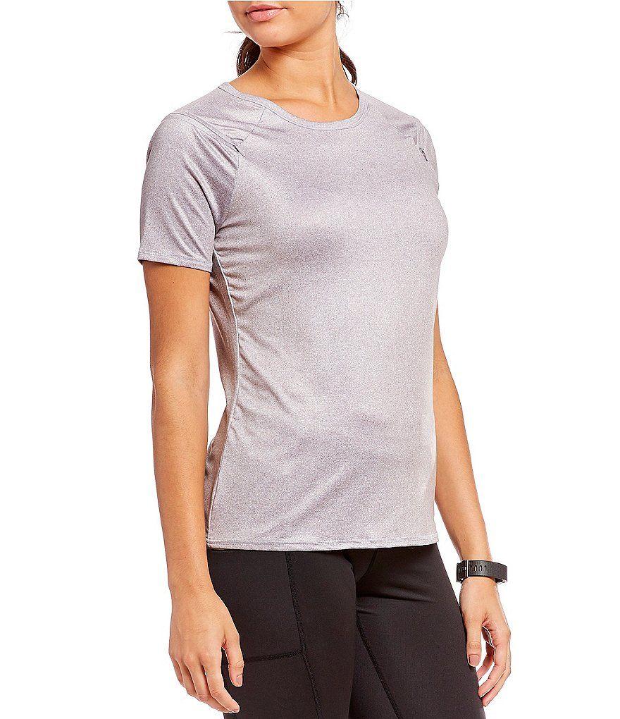 Copper fit pro zip shoulder short sleeve teepro zip