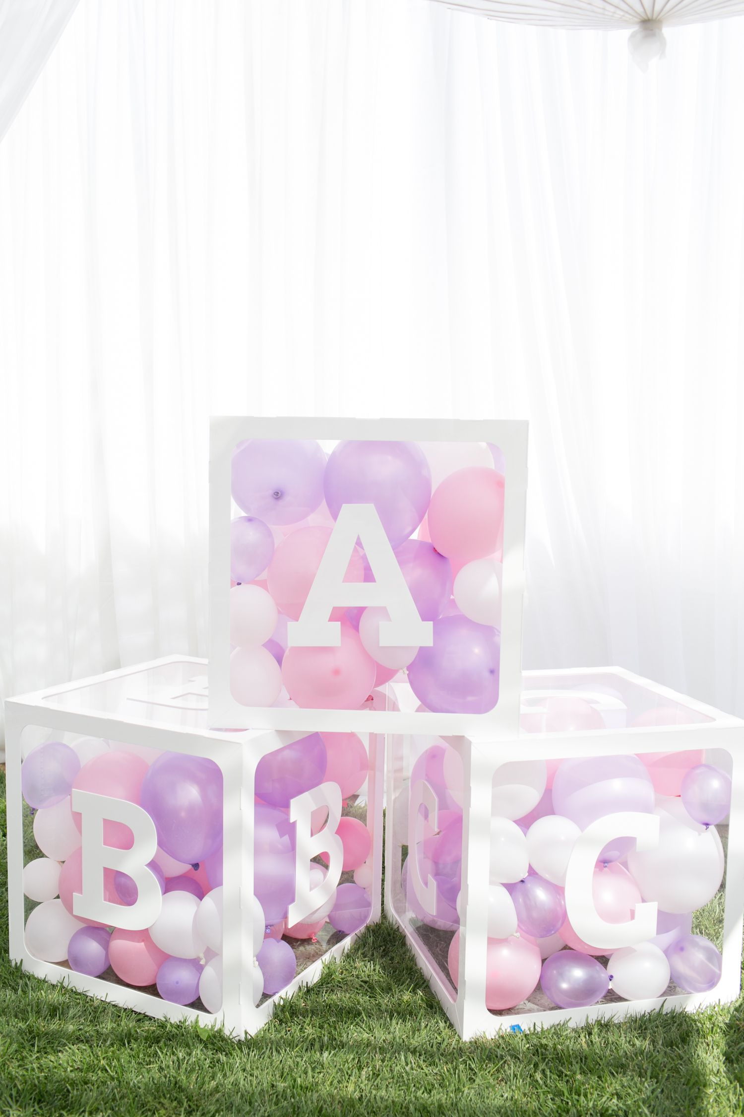 Dreamy Pink and Lavender Baby Shower by A Good Affair - Perfete