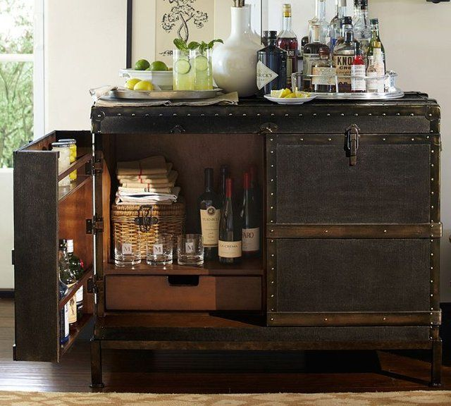 Fancy - Ludlow Trunk Bar Cabinet