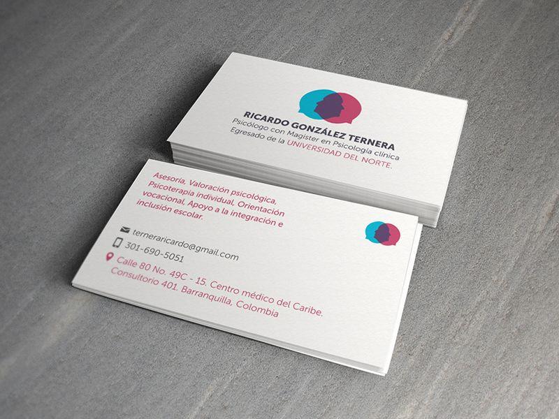 psychology business card | Business card | Pinterest | Business ...