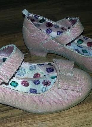 wunderschöne Glitzerschuhe rosa - Top Zustand - H&M