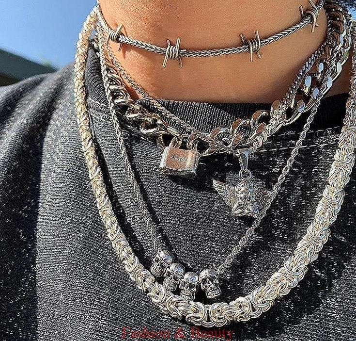 - jewelry trends #grungeaesthetic