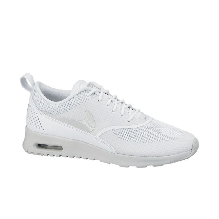 Nike Air Max Thea  - PERFORMANCE COMFORT, MINIMALIST APPEAL The Nike Air Max Thea Women's Shoe is equipped with premium lightweight cushioning and a sleek, low-cut profile for lasting comfort and understated style. Benefits  Minimal textile-based upper with synthetic and leather overlays for targeted support with a lightweight feel Mesh at forefoot and perforations at heel for breathability Visible Max Air technology for maximum impact protection Phylon midsole for lightweight ...