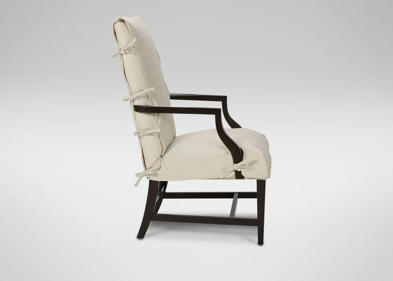 Buy Ethan Allenu0027s Slipcover For Martha Washington Chair Or Browse Other  Products In Arm U0026 Host Chairs.