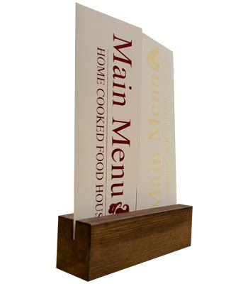 Wooden Table Talkers Google Search Reference Images Pinterest - Restaurant table talkers