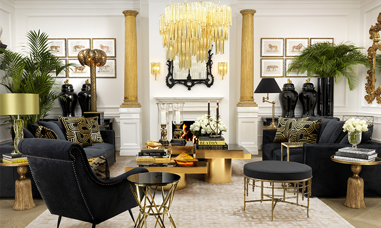Hollywood Regency Style Living Room Google Search Hollywood