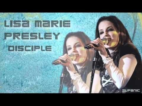 "▶ Lisa Marie Presley - ""Disciple"""