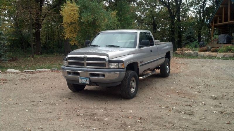 Used 1998 Dodge Ram 2500 Diesel, low miles Dodge ram