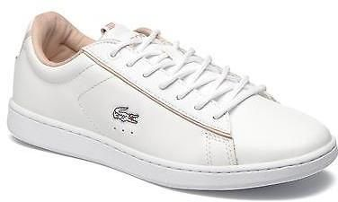 f9908676d Women s Lacoste Carnaby EVO EDG Lace-up Trainers in White
