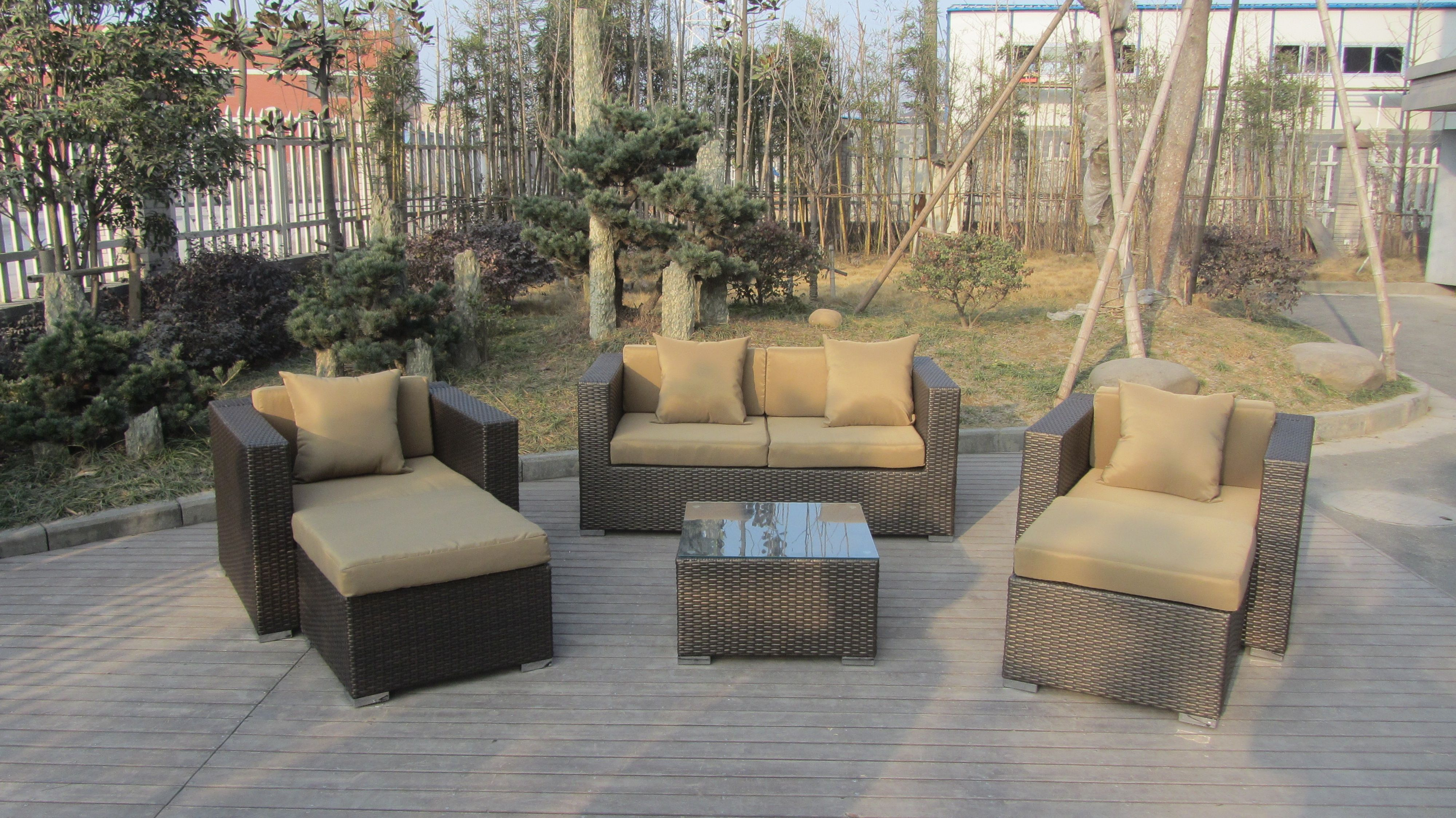 Tg 7088 Resin Wicker Sectional Outdoor Furniture China Trygo