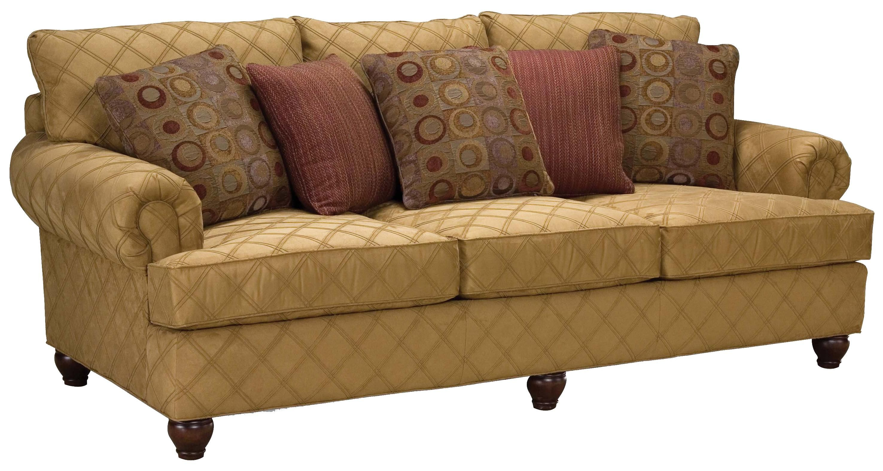 Superieur 3738 Rolled Arm Comfort Sofa By Fairfield   Belfort Furniture   Sofa  Washington DC, Northern Virginia (NoVA), Maryland, And Dulles, VA
