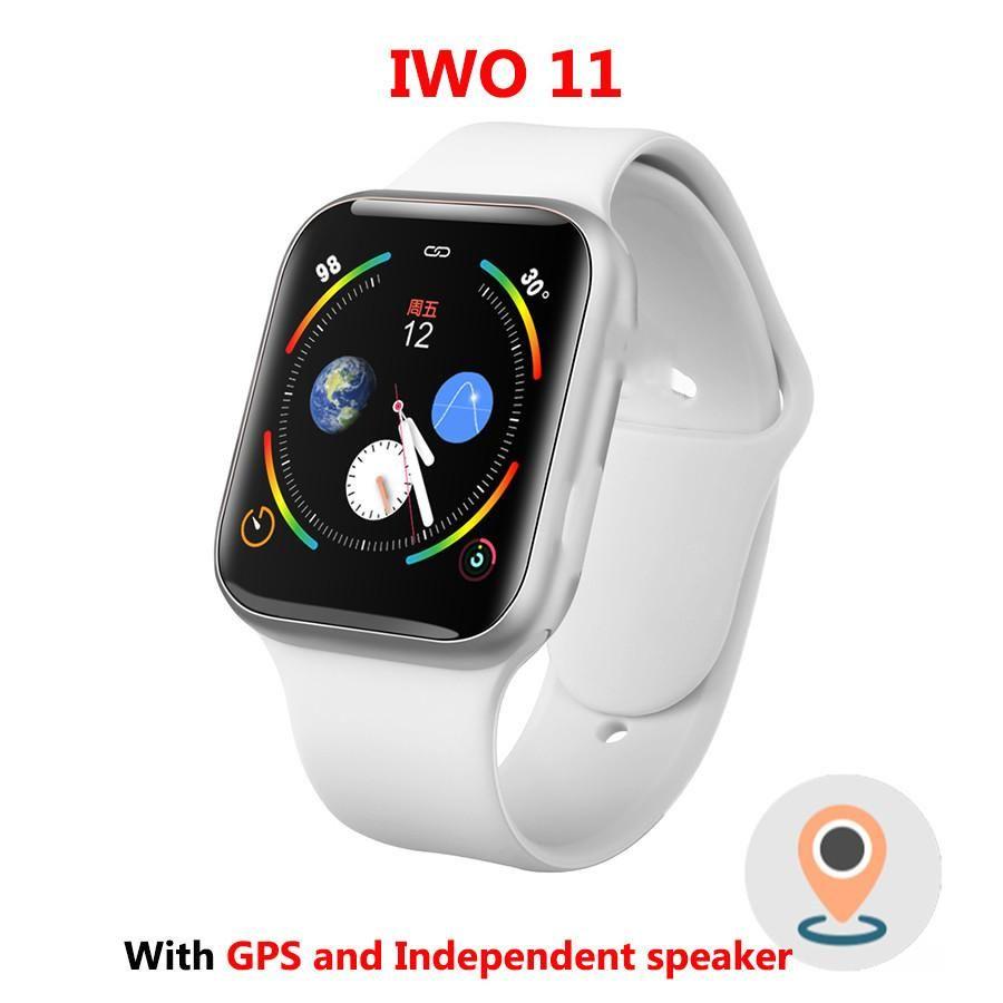 IWO 11 GPS Bluetooth Smart Watch 11 SmartWatch 44mm Case