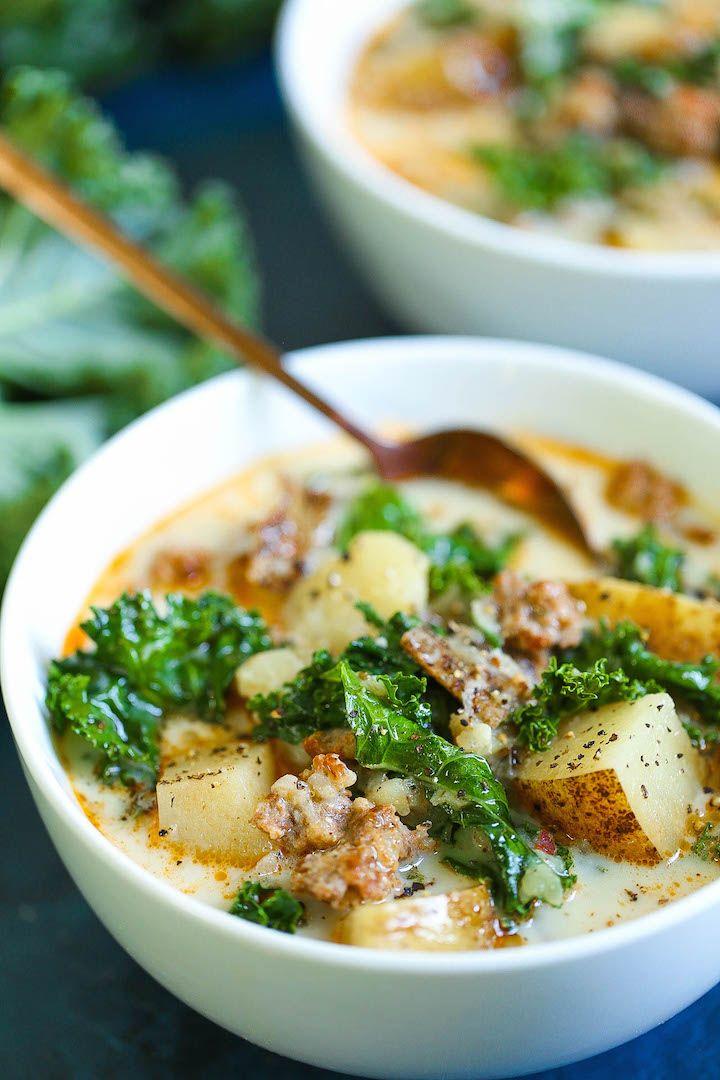 Instant Pot Olive Garden Zuppa Toscana Copycat #zuppatoscanasoup