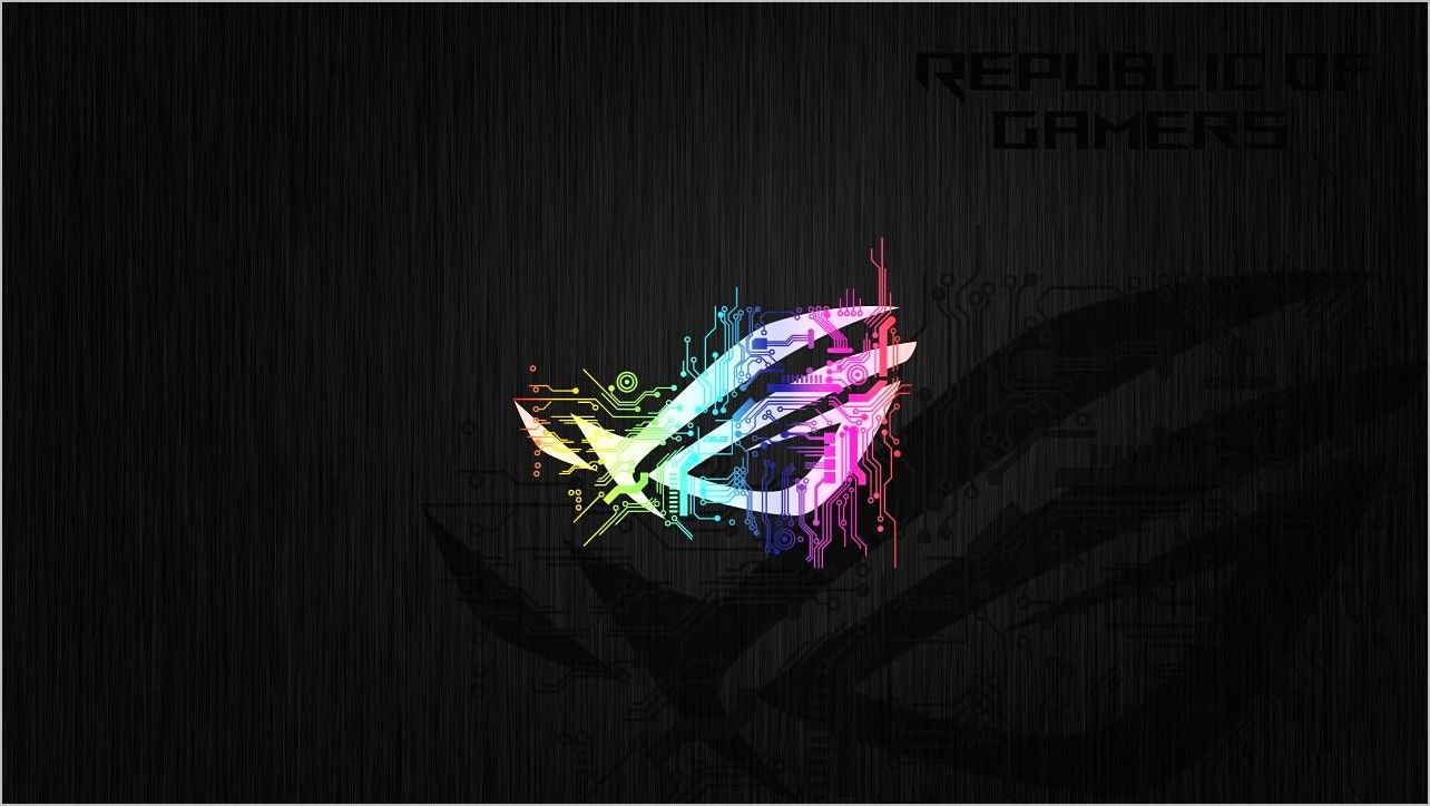 Asus Republic Of Gamers Wallpaper 4k Fotografi Seni Kertas Dinding Gambar