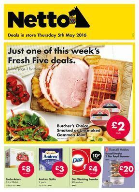 Netto Deals Scandinavian For Value 5th May 2016 Gammon Joint Scandinavian Supermarket