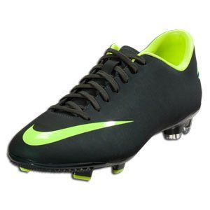 newest collection 07ed2 e1576 Nike Mercurial Victory III FG Seaweed Black/Volt Soccer ...
