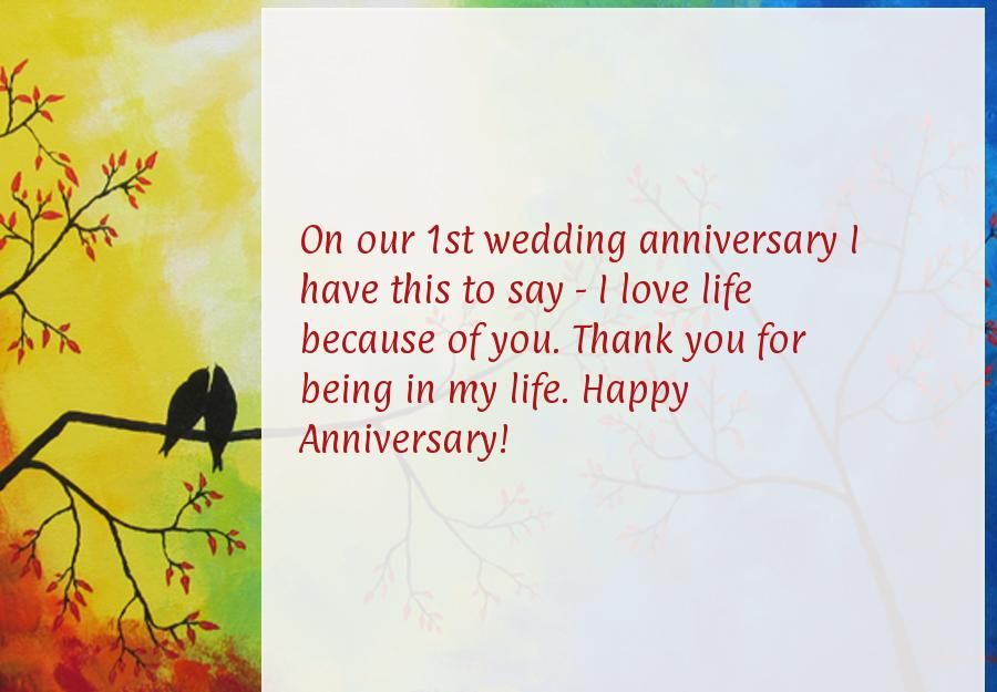 Awesome Happy 1st Wedding Anniversary Funny Images