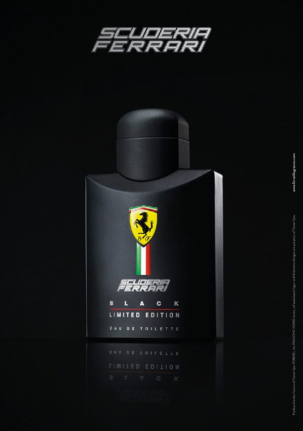 Scuderia Ferrari Black Limited Edition Perfume Fragancia
