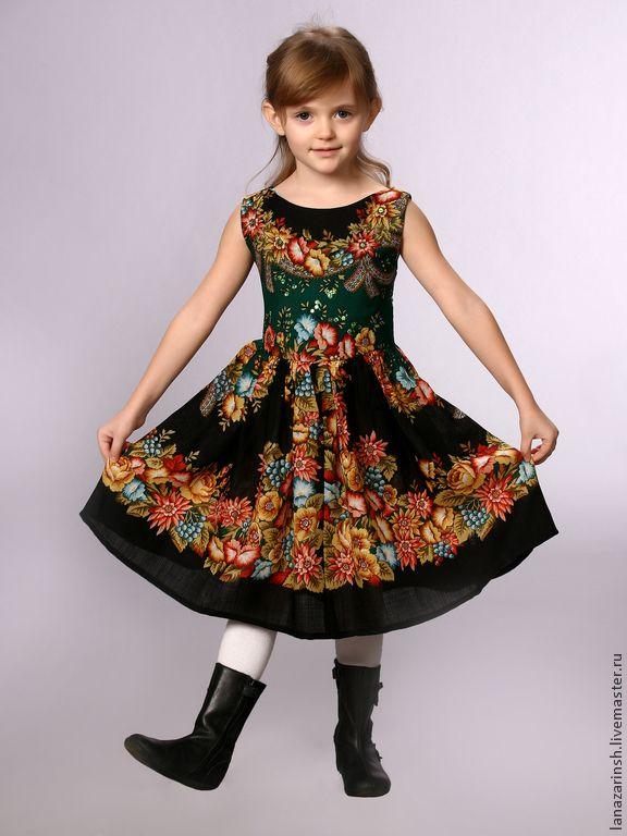 Платье детское - Лана (lanazarinsh) - Ярмарка Мастеров http://www.livemaster.ru/item/1382541-odezhda-plate-detskoe