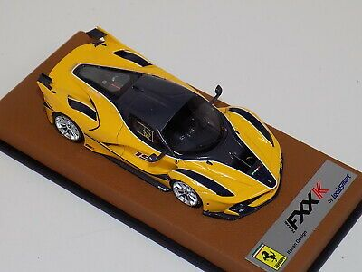 1/43 LOOKSMART Ferrari Fxx-K Giallo tristrato Blu scozia Carro #15 LS445H GP113   eBay