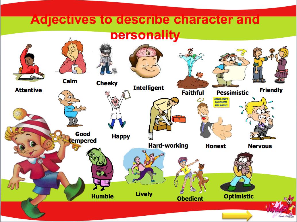 1 Describing Appearences 2 Describing People 3 People S