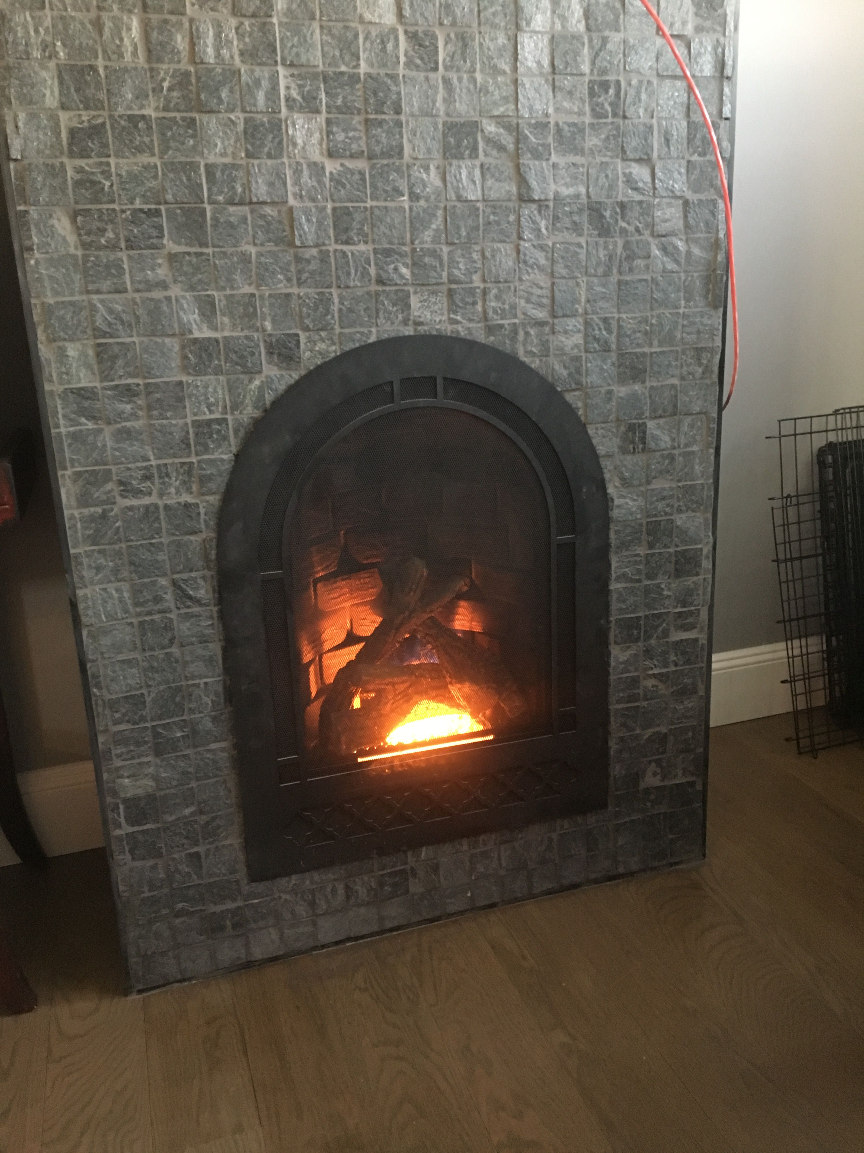 from the fireplace store seaford tiles from wayfair my den rh in pinterest com Fireplace Stores in NJ Center Fireplace House Plans