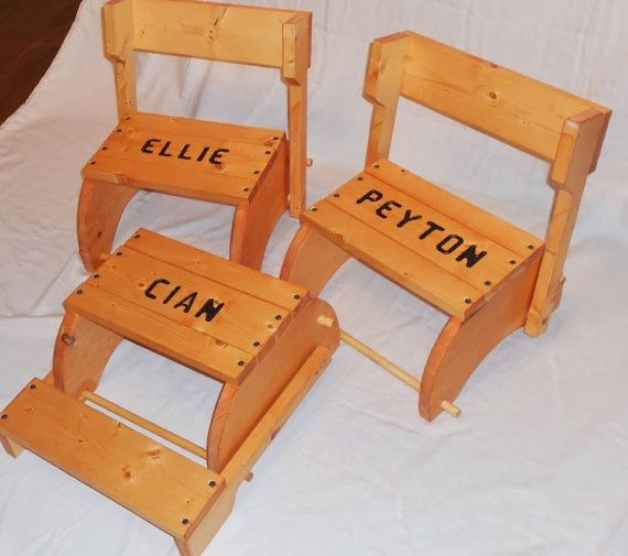 Fabulous Personalized Step Stool That Folds Into A Chair Christmas Inzonedesignstudio Interior Chair Design Inzonedesignstudiocom