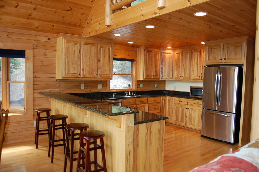 Pine Kitchen Cabinets Home Depot