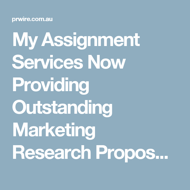 Services marketing dba research proposal