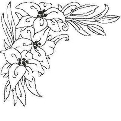 embroidery design patterns mangopeacocks butterflies liliescorners008jpg