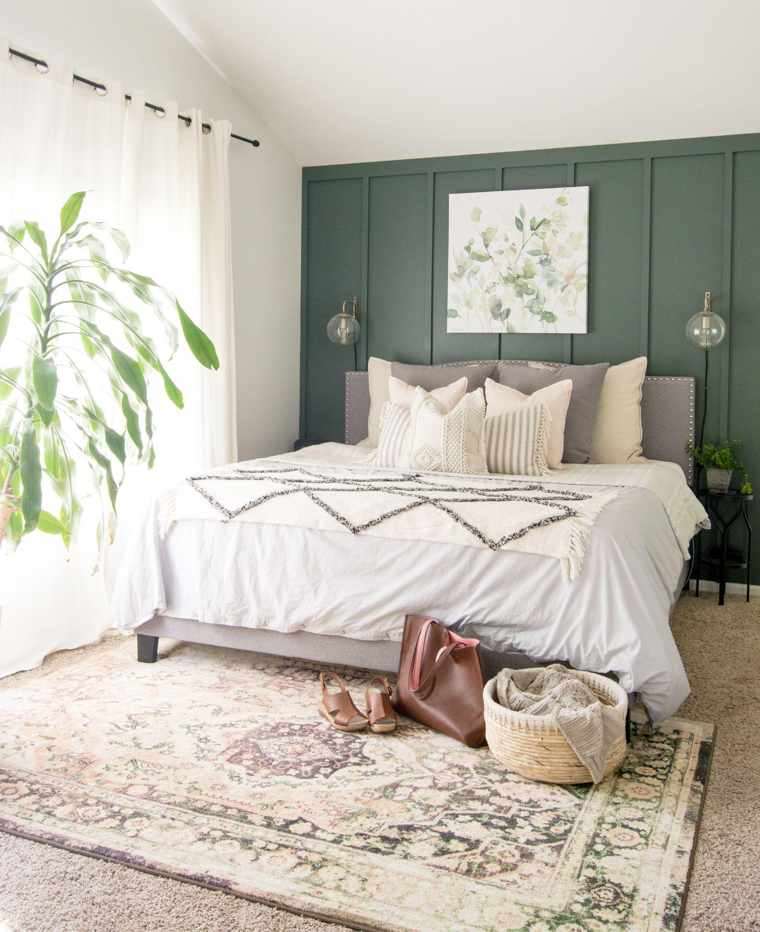 3 Tips for Styling Modern Farmhouse Bedding #modernfarmhousebedroom