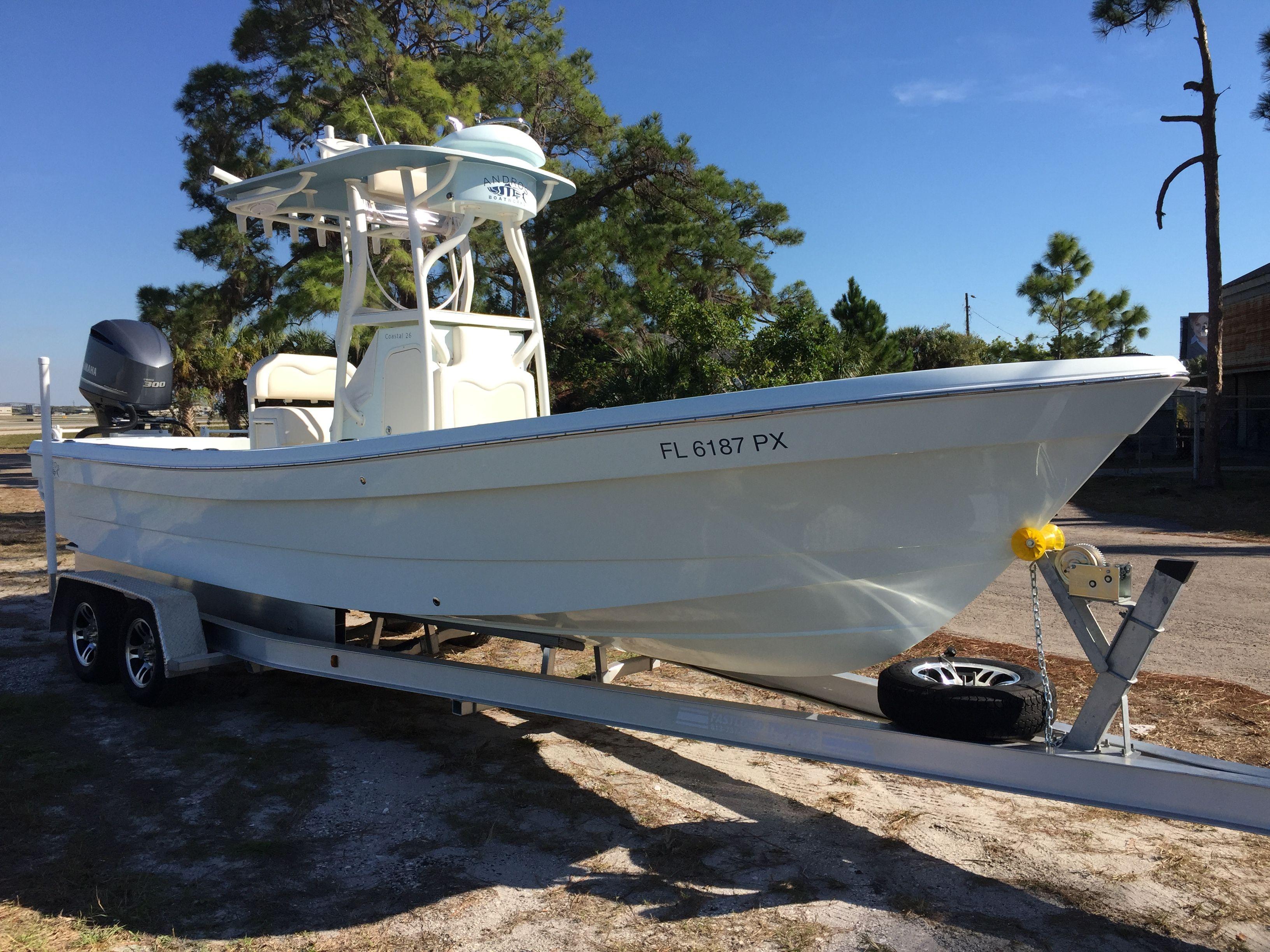 Used 2015 Andros Boatworks Tarpon 26 Longboat Key Fl