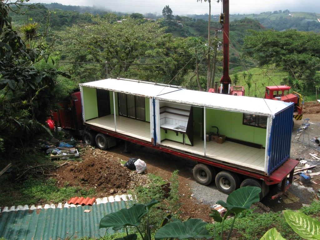 Decoration hot shipping container environmentally friendly freight containers homes - Eco friendly shipping container homes ...