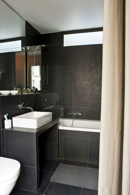 Petite salle de bain optimisée  inspiration coup de coeur