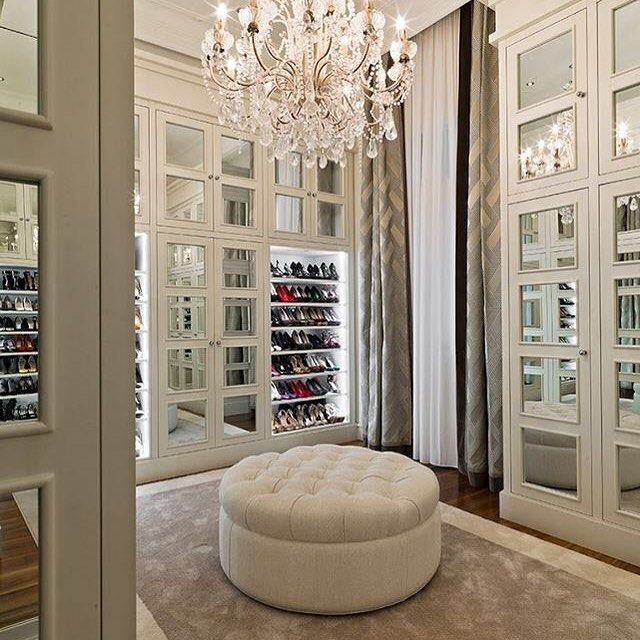 Master Bedroom Closet Ideas: Pin By Crown & Glitter On // Fabulous Closets
