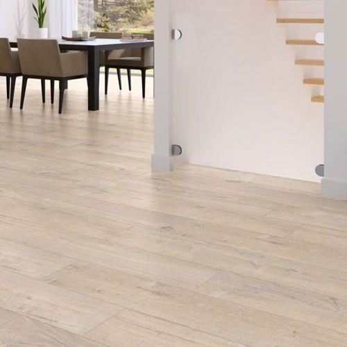 quick step impressive im1856 zachte eik warm grijs lhd laminaat interieur vloeren en verven. Black Bedroom Furniture Sets. Home Design Ideas