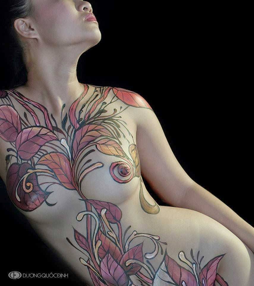 Duong quoc dinh body painting body paint and bodies