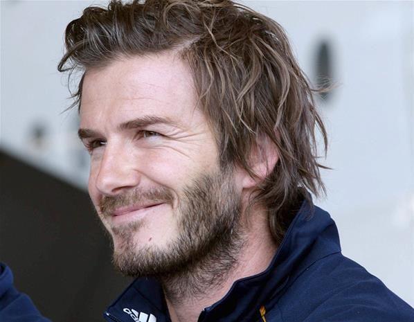 David Beckham Photos Photos Detroit Pistons V Los Angeles Lakers David Beckham Long Hair David Beckham Hairstyle David Beckham Haircut