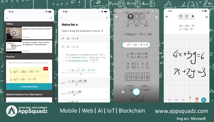 Microsoft S Math Solver App Is Out Applies Ai To Solve