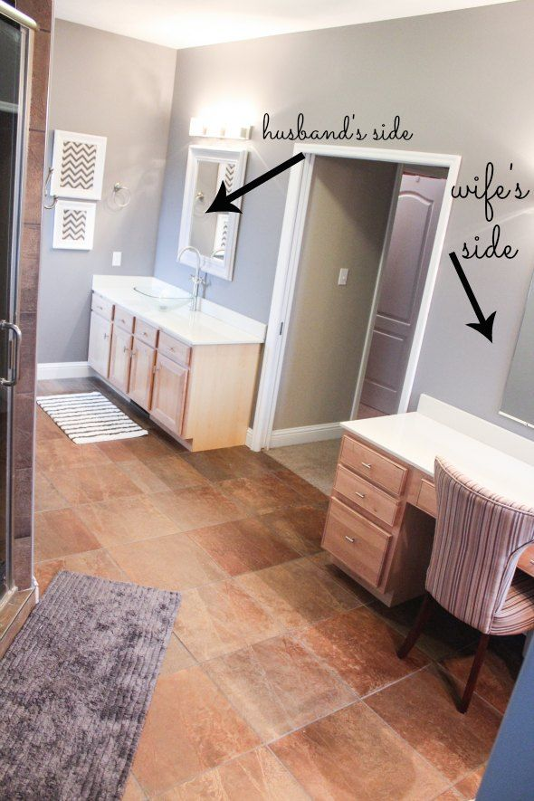 Attrayant Master Bathroom Makeover Decorating Ideas
