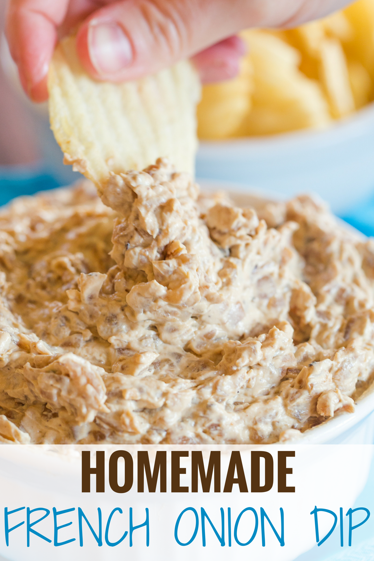 Homemade French Onion Dip Brown Eyed Baker Recipe French Onion Dip Homemade French Onion Dip Onion Dip