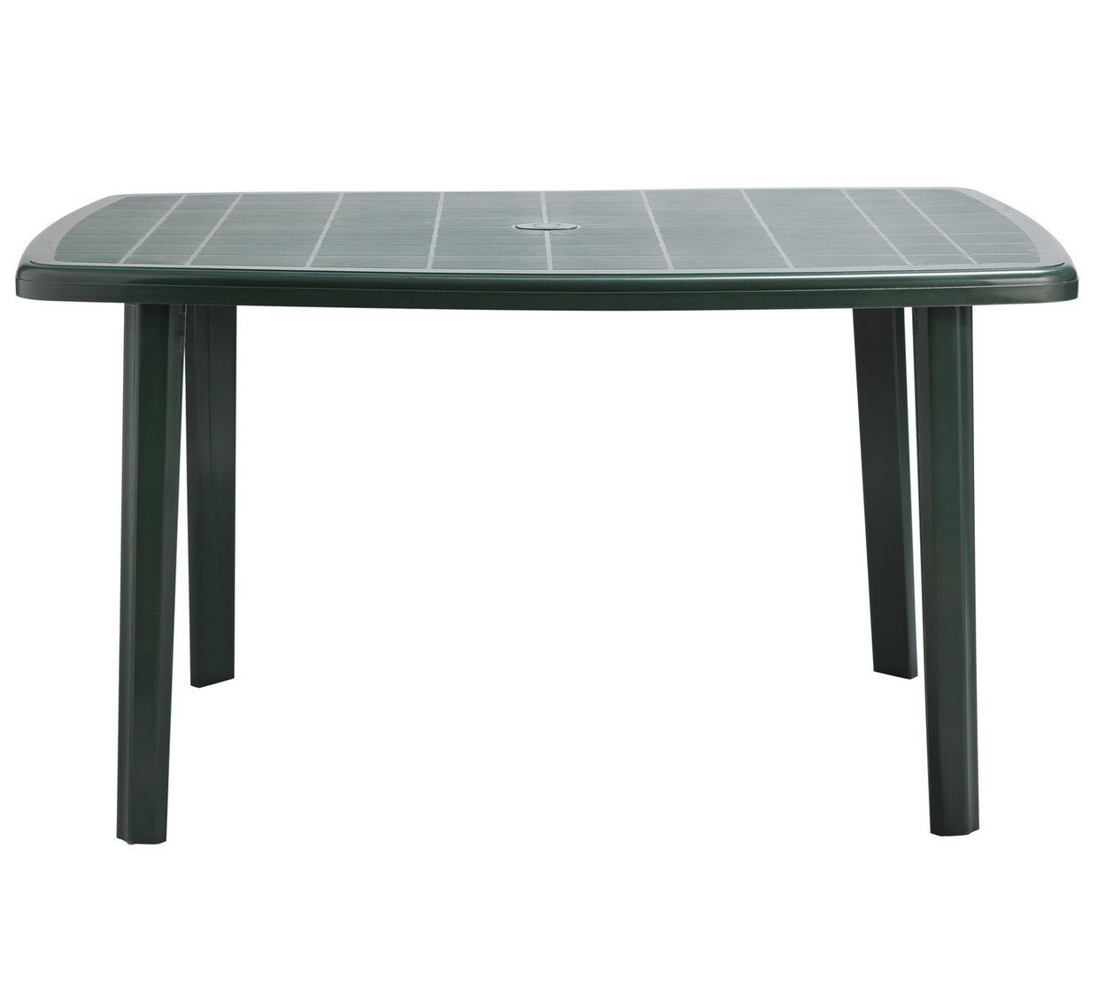 Argos Round Garden Table And Chairs: Home Rectangular 6 Seater Garden Table - Green