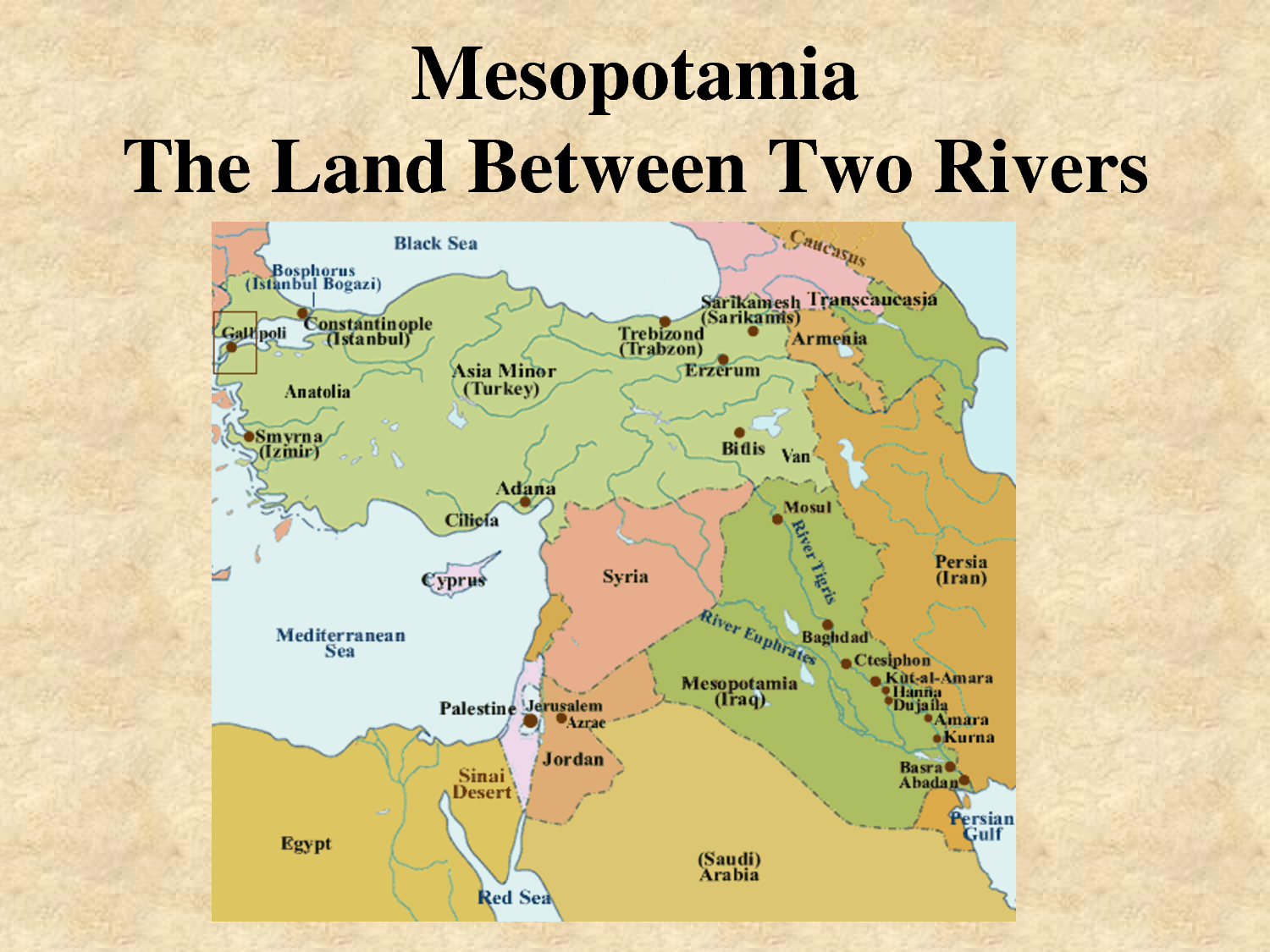 Ancient Mesopotamia Is Included In A Part Of The World That Was - Tigris river map world atlas