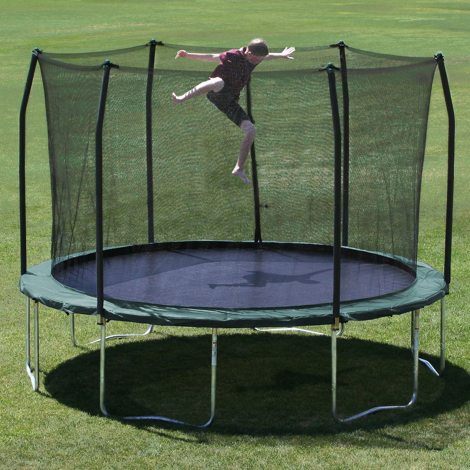 Skywalker Trampolines 12' Round Trampoline And Enclosure