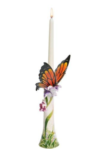 13 Butterfly Ceramic Candle Holder With Color Accents Click Image For More Details Note It Is Affiliate Candlesticks Ceramic Candle Holders Ceramic Candle