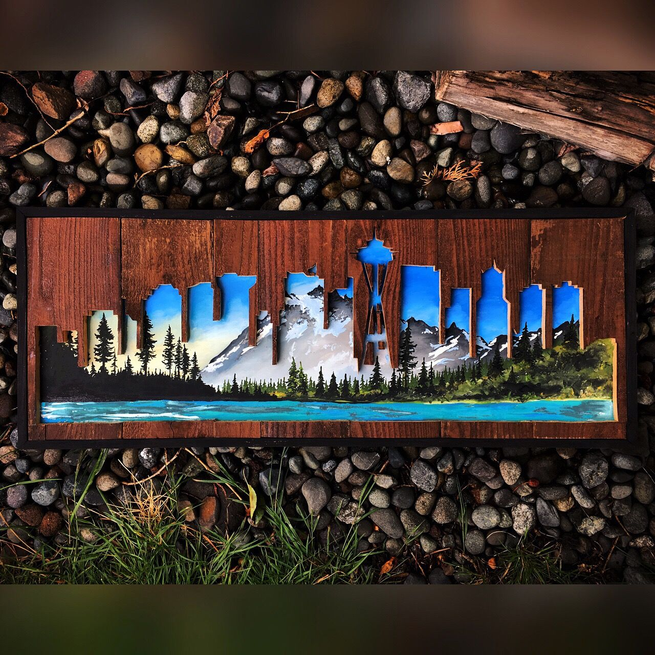 WOODENSENSE (With images) | Diy pallet wall art, Pallet ...