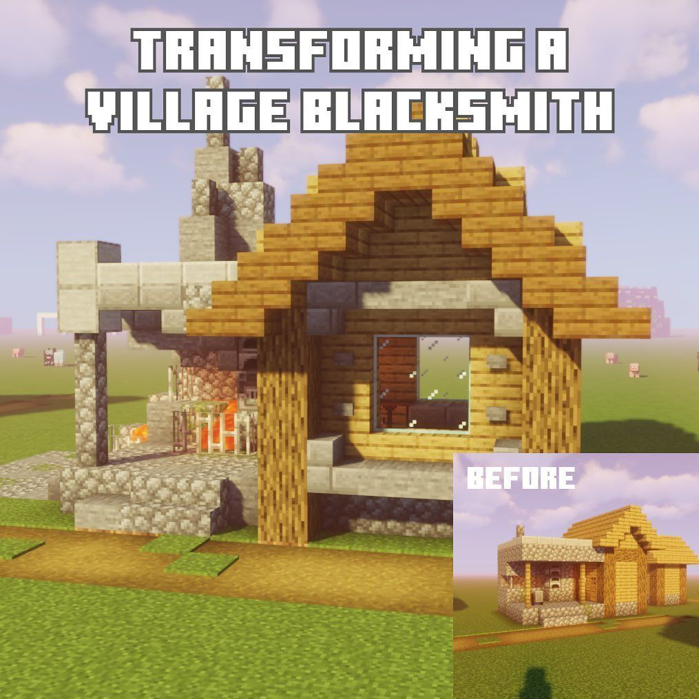 Minecraft Blacksmith House
